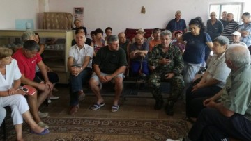 село Косача, Перник, събрание